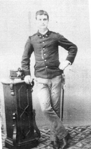 Emilio Quilietti age 16 in the Italian Army