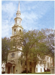 Providence's first Baptist church