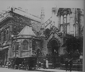 St. Mary's Cathedral, Broughton Street, Edinburgh circa 1890