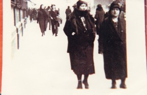 Elizabeth Wilson with Louisa Brattesani Costella