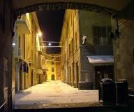 Borgo Val di Taro in the evening
