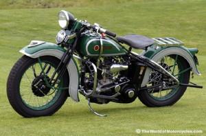 Harley Davidson vintage 1936