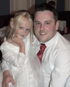 Scott with daughter Cassie