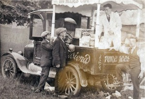 a later photo of the Giulianotti Ice Cream Car