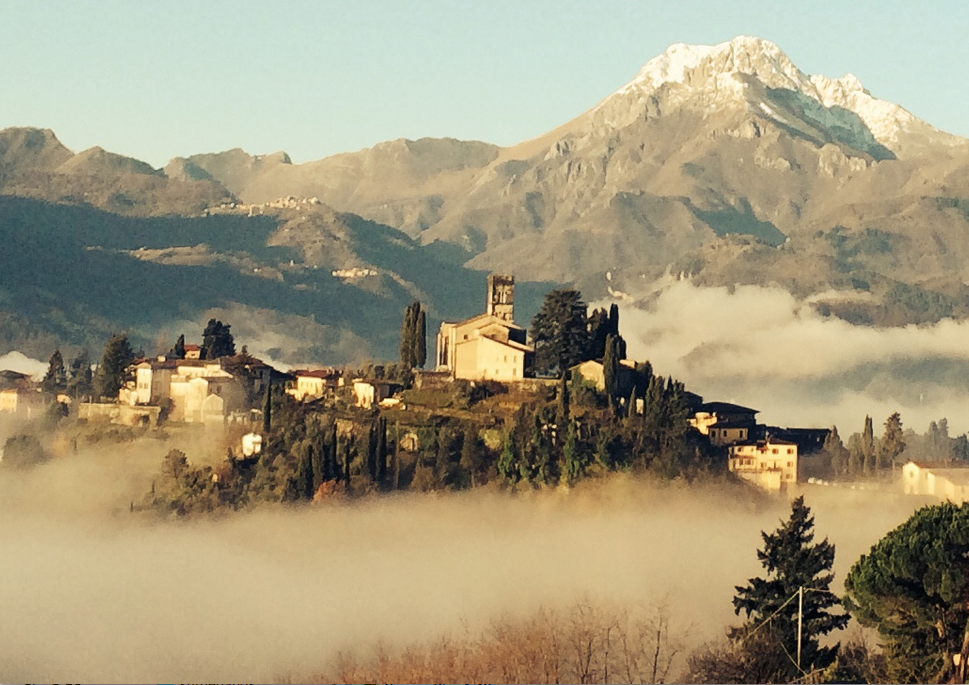 Barga from Castelvecchio, a sight to behold