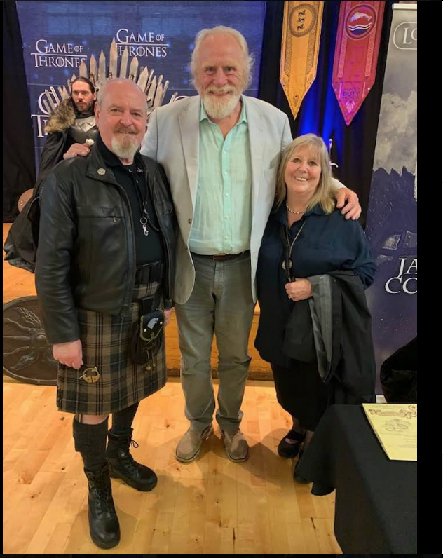 Menace, James Cosmo and Helen