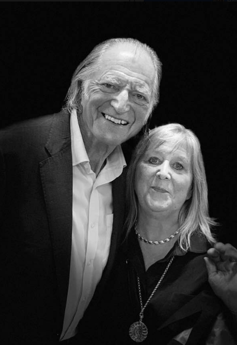 David Bradley with Helen
